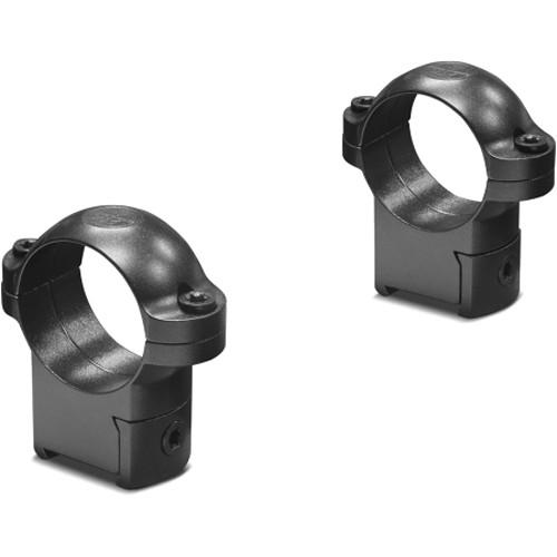 "Leupold RM CZ 527 Ringmounts (1"", Steel, Medium, Matte Black)"