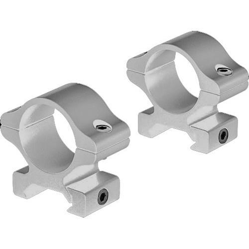 """Leupold Rifleman Detachable Rings (1"""", Aluminum, Medium, Silver)"""