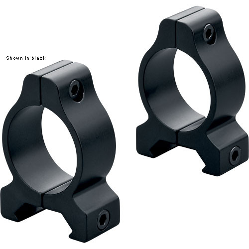 "Leupold Rifleman Vertical Split Rings for 1.0"" Riflescopes (Silver)"
