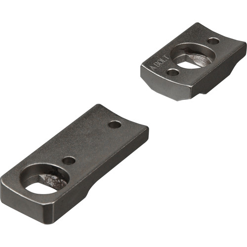 Leupold DD A-Bolt RVF Dual Dovetail Two-Piece Mounting Base (Silver)