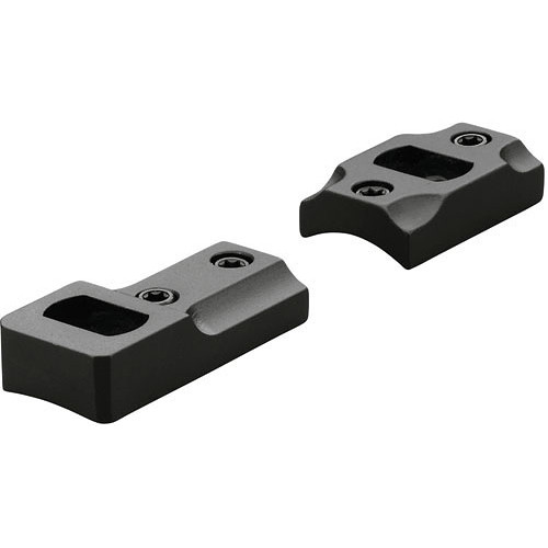 Leupold Dual Dovetail Two-Piece Mounting Plate for Kimber 84 (Matte Black)