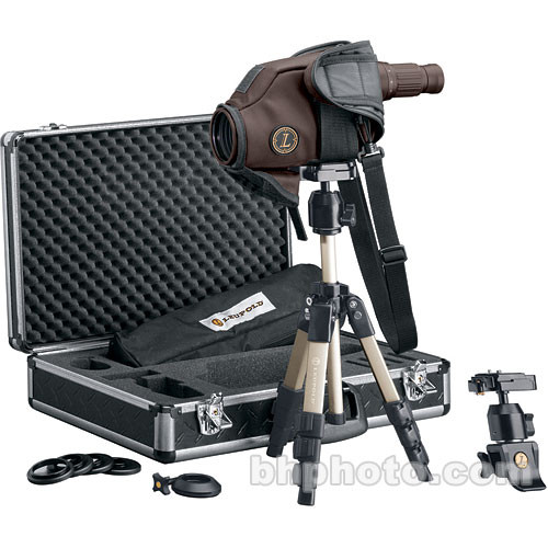"""Leupold Golden Ring HD 2.4""""/60mm Spotting Scope Outfit (Brown)"""