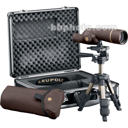 "Leupold Golden Ring Compact 2.0""/50mm Spotting Scope Outfit (Brown)"