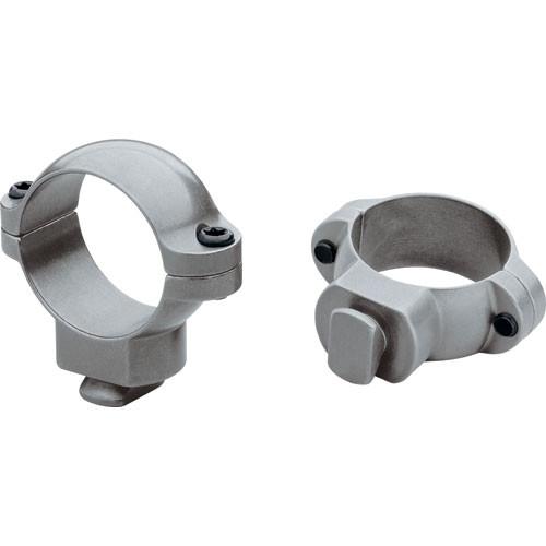 "Leupold STD  Rings - 1.0"" Tube - Medium   (Gun Metal Gray)"
