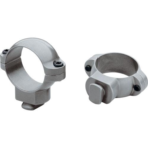 Leupold Dual Dovetail Rings (Medium) (Gun Metal Gray)