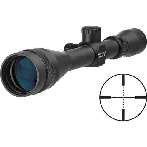 Leupold 6-18x40 Mark 2 T1 Riflescope with Mil-Dot Reticle (Matte Black)