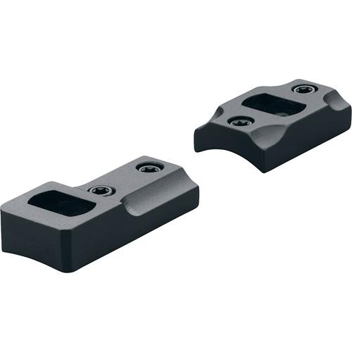 Leupold DD X-Bolt Dual Dovetail Two-Piece Mounting Base (Matte Black)