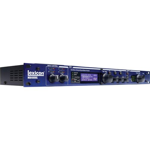 Lexicon MX400XL Dual Stereo/Surround Multi-FX Processor with DAW Integration (XLR Connectors)
