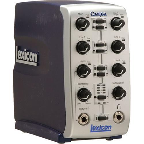Lexicon OMEGA 8x4 USB Audio Interface