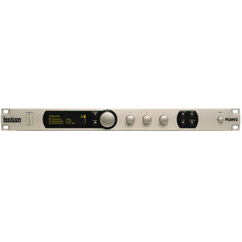 Lexicon PCM92 - Reverb Processor
