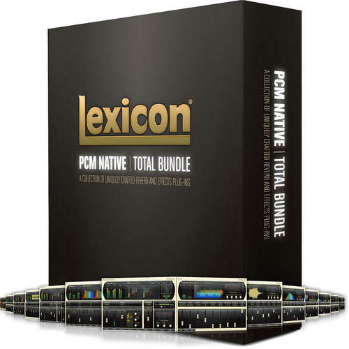 Lexicon PCM Total Bundle - Reverb and Effects Plug-Ins