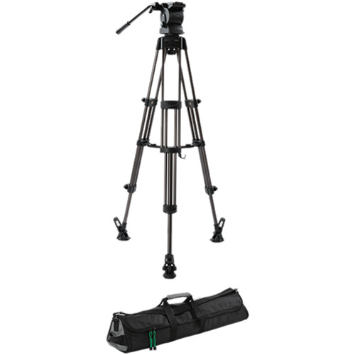Libec RS-350M Professional 2-Stage Aluminum Tripod System w/Mid-Level Spreader