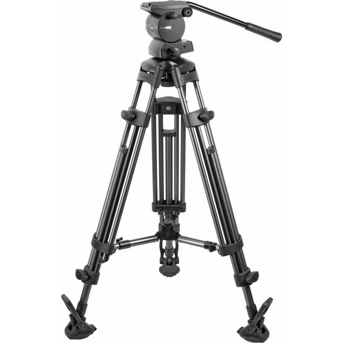 Libec RS-450M Professional 2-Stage Aluminum Tripod System with Mid Spreader