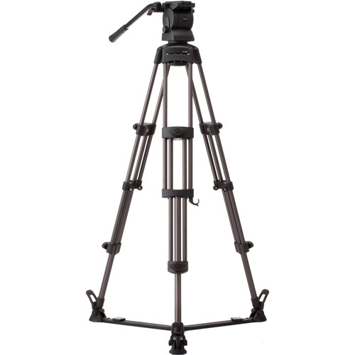 Libec RS-450 Professional 2-Stage Aluminum Tripod System with Ground Spreader