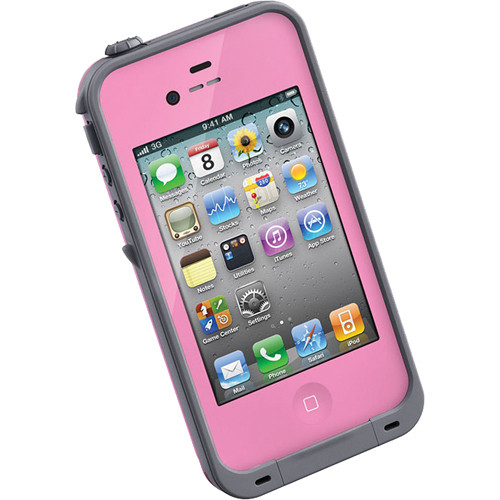 LifeProof Case for iPhone 4/4s (Pink)