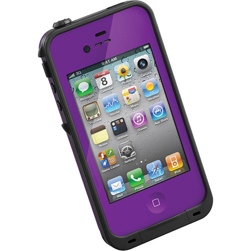 LifeProof Case for iPhone 4/4s (Purple)