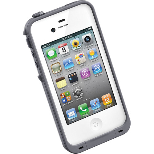 LifeProof Case for iPhone 4/4s (White)