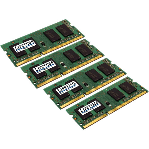 Lifetime Memory 32GB (4x8GB) SO-DIMM Laptop Memory Upgrade Kit