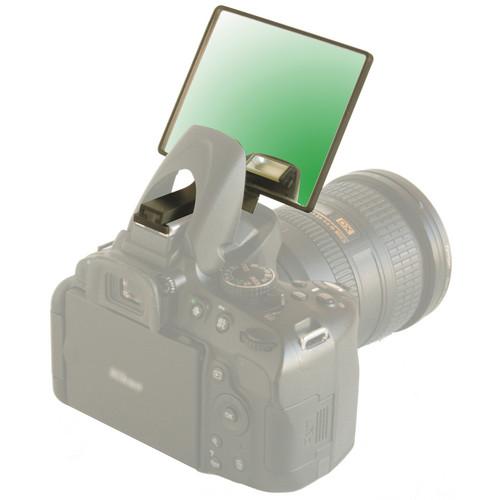 Lightscoop Tinted Mirror Component for Lightscoop Deluxe (Green)