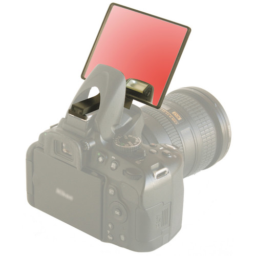 Lightscoop Tinted Mirror Component for Lightscoop Deluxe (Red)