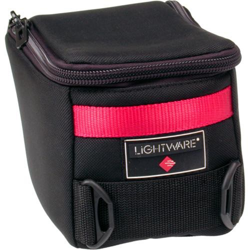Lightware H70710 Small Head Pouch - for Film Holders, Small Light Heads, View Camera Lenses and On-Camera Flashes (Black)