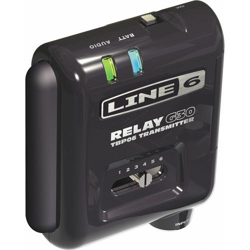 Line 6 TBP06 Transmitter for Relay G30 Wireless Guitar System