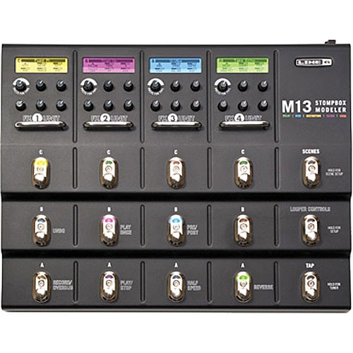 Line 6 M13 Stompbox Modeler - FX Processor for Electric Guitars