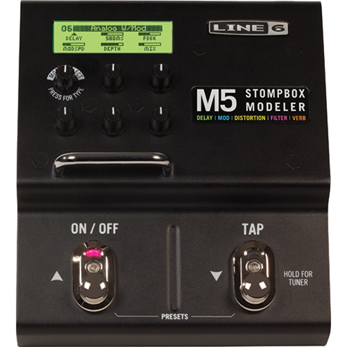 Line 6 M5 Stompbox Modeler - Digital Effects Pedal