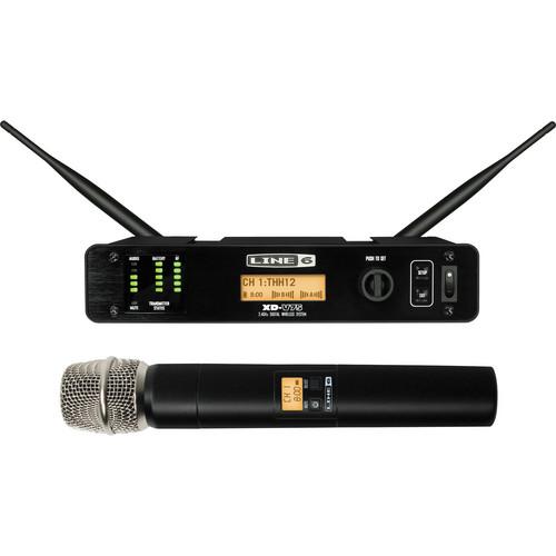 Line 6 XD-V75 Pro Handheld Digital Wireless Microphone System