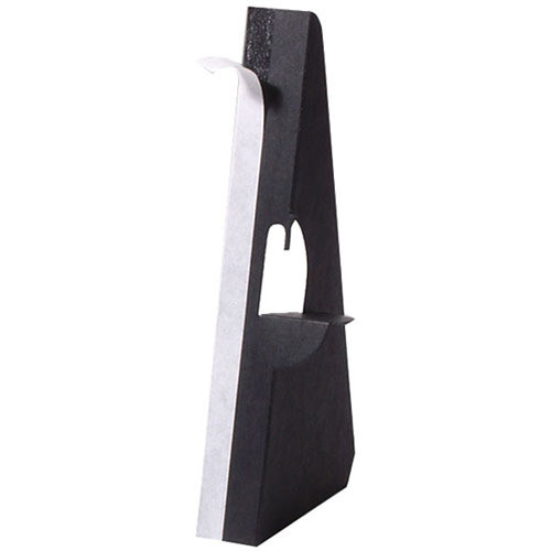 "Lineco Single-Wing Easel Back (9"", Black, 25-Pack)"