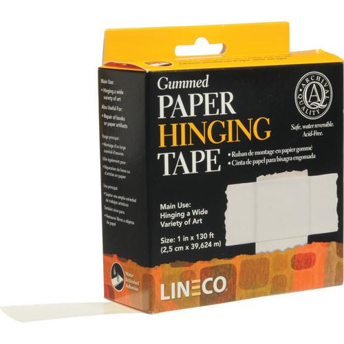 "Lineco Gummed Frame/Hinging Sealing Tape (1"" x 130')"