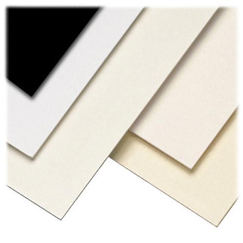 "Lineco Kensington Mounting Board (8 x 10"", 2 Ply, White, 10 Sheets)"