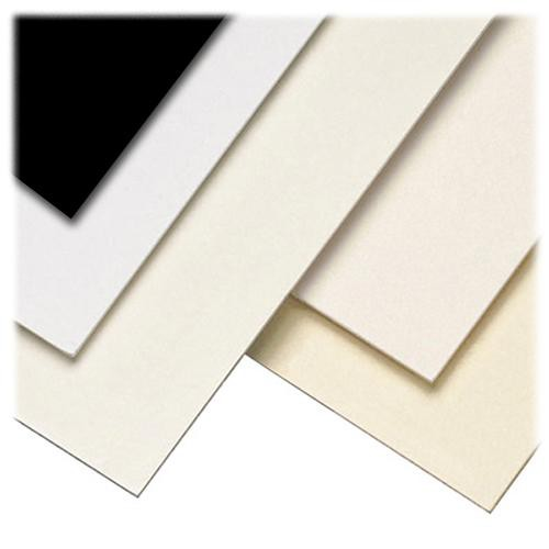 "Lineco Kensington Mounting Board (8 x 10"", 2 Ply, White, 25 Sheets)"