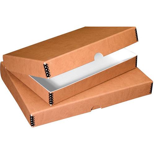 """Lineco Folio Storage Box (9.5 x 12.5 x 1.75"""", Tan)"""