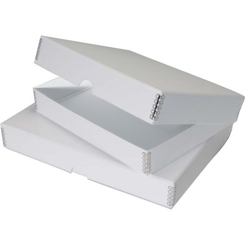 """Lineco Folio Storage Box (8 x 10"""", Pure White)"""