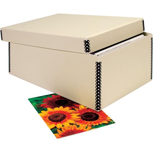 "Lineco 733-1285 Card File (5 x 8 x 12"", Tan)"
