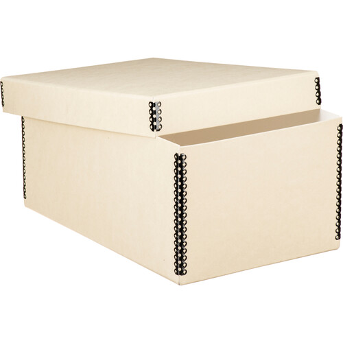 Lineco Short Lid Negative/Print Envelope Boxes (Tan)