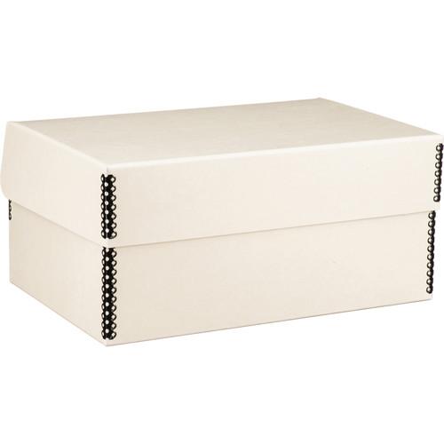 Lineco Hinged Lid Photo Box (Tan)
