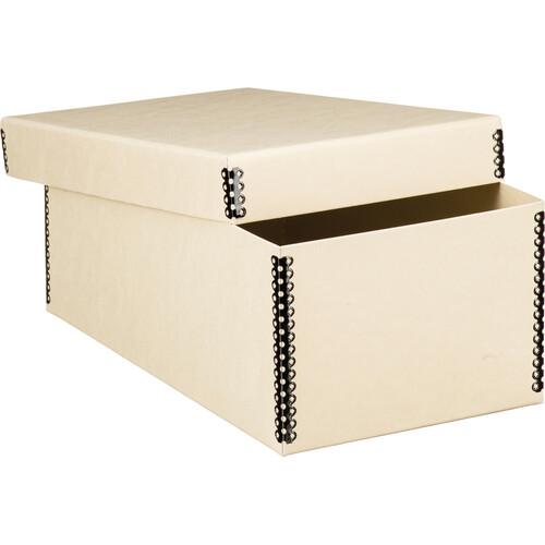 Lineco Short Lid Negative/Print Envelope Boxes (Tan)