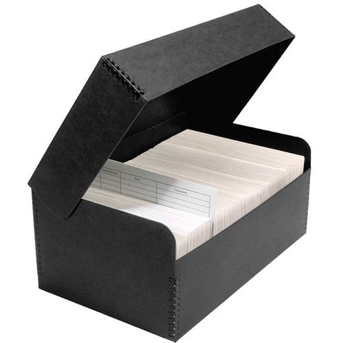Lineco Hinged Lid Photo Box (Black)