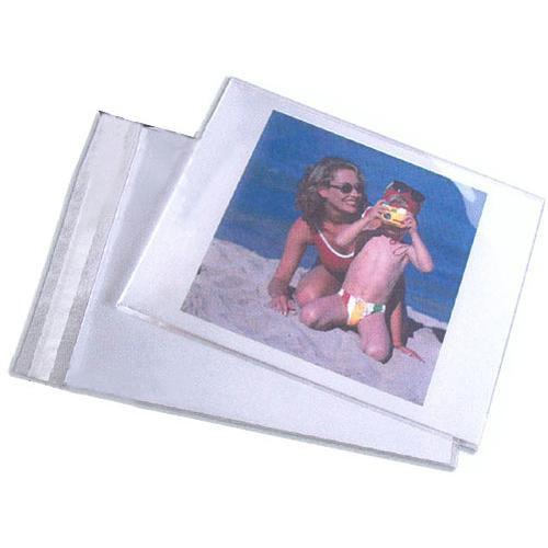 "Lineco Self-Sealing Photo / Art Bag (8.5 x 11"", 100-Pack)"