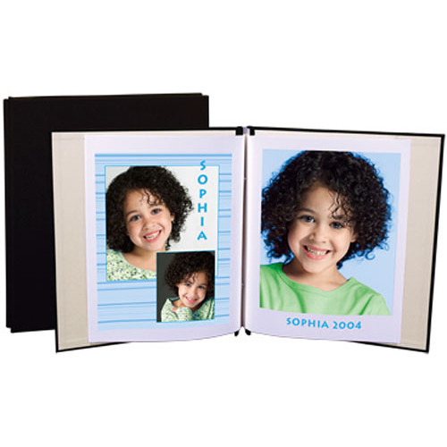 """Lineco 9.5 x 11"""" - Digital Postbound Album with 10 Pages - European Bookcloth"""