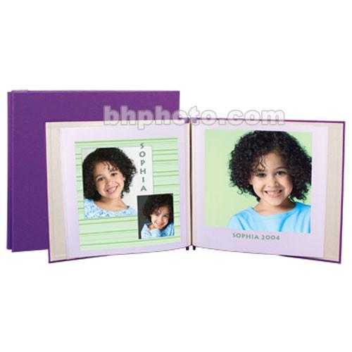 "Lineco 12 x 13"" Digital Post Bound Album - Lavender"