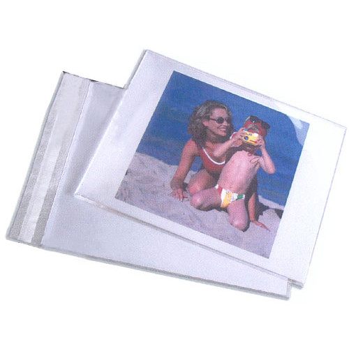 "Lineco Self-Sealing Photo / Art Bag (4 x 6"", 100-Pack)"