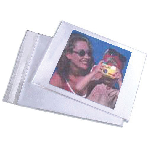 "Lineco Self-Sealing Photo / Art Bag (8.5 x 11"", 50-Pack)"