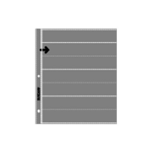 Lineco Slide Storage Strip (Clear) , 35mm, Holds 7 Strips, 6 Frames (25 Pack)