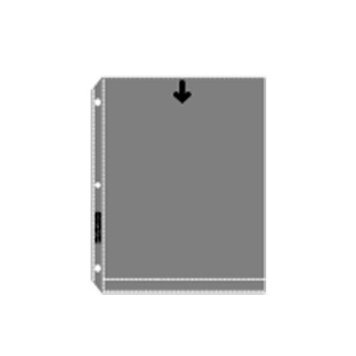 """Lineco Photo Print Storage Page - for 8 x 10"""" Photos, Holds 2 Prints, Top Load, (100 Prints)"""