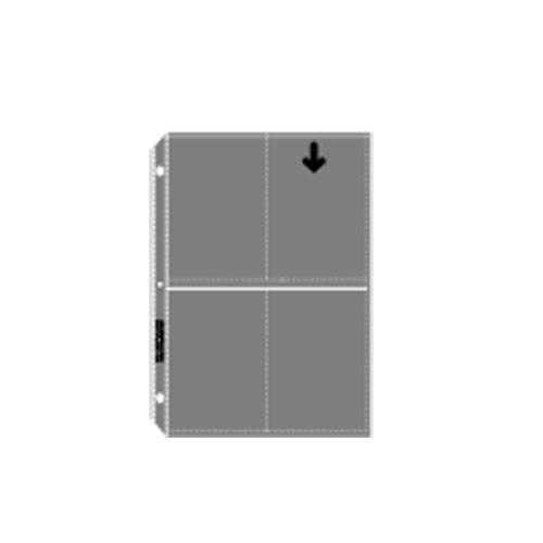 "Lineco Archivalware Print Sleeve - 3.5 x 5"", Holds 8 Prints, (100 Sleeves)"