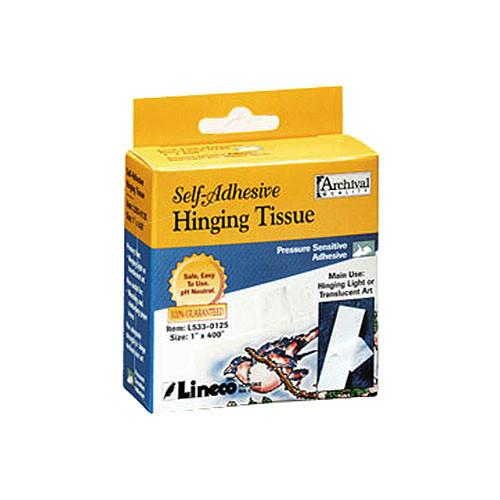 "Lineco Self-Adhesive Mounting/Hinging Tissue (1"" x 98')"