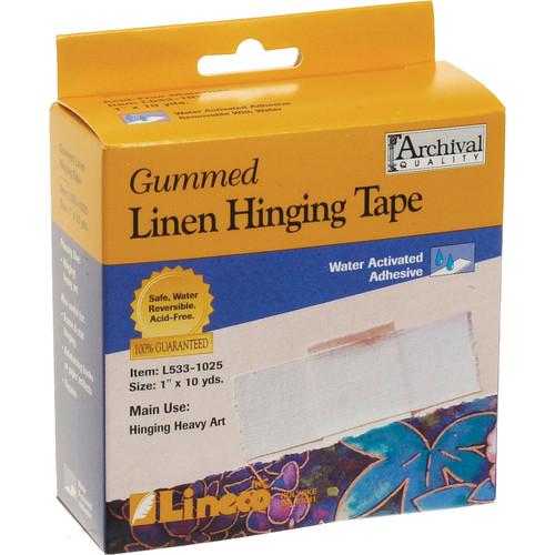 "Lineco Gummed Linen Hinging Tape (1"" x 30')"